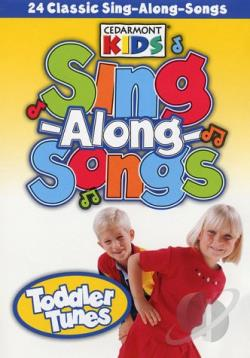 Sing-Along-Songs: Toddler Tunes DVD Cover Art