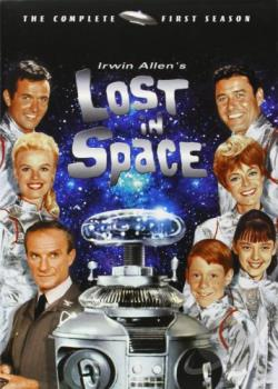 Lost in Space - Season 1 DVD Cover Art