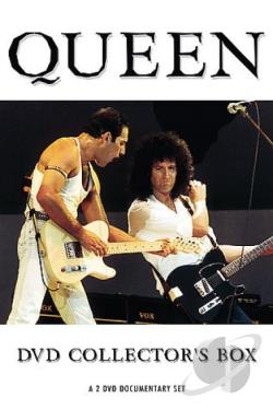 Queen - DVD Collector's Box DVD Cover Art