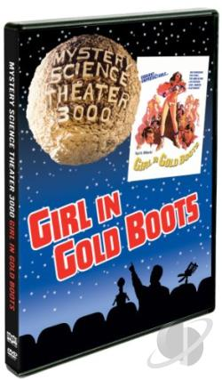 Girl In Gold Boots DVD Cover Art