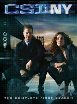 CSI: New York - The Complete First Season DVD Cover Art