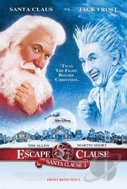 Santa Clause 3: The Escape Clause DVD Cover Art