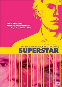 Superstar: The Life and Times of Andy Warhol DVD Cover Art