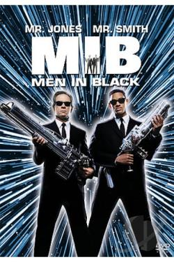 Men In Black DVD Cover Art
