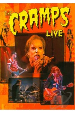 Cramps: Live DVD Cover Art