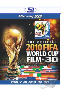 Official 2010 FIFA World Cup Film in 3D BRAY Cover Art