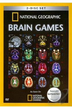 National Geographic: Brain Games DVD Cover Art