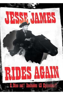 Jesse James Rides Again DVD Cover Art