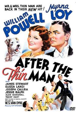 After The Thin Man DVD Cover Art