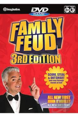 Family Feud - 3rd Edition DVD Game DVD Cover Art