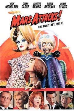 Mars Attacks! DVD Cover Art