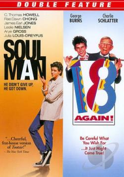 Soul Man/18 Again! DVD Cover Art