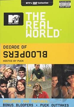 MTV's The Real World - A Decade of Bloopers DVD Cover Art