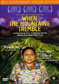 When The Mountains Tremble DVD Cover Art