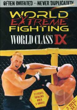 Wef - World Extreme Fighting Series - World Class DVD Cover Art