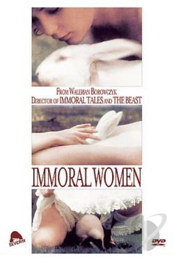 Immoral Women DVD Cover Art