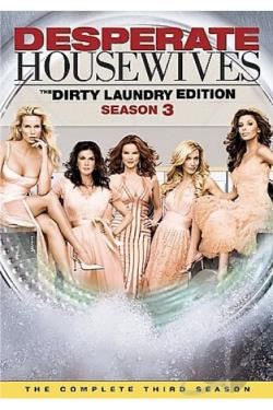 Desperate Housewives - The Complete Third Season DVD Cover Art