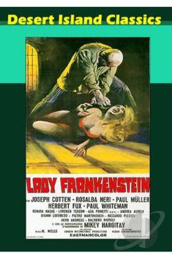 Lady Frankenstein DVD Cover Art