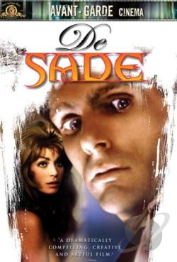 De Sade DVD Cover Art