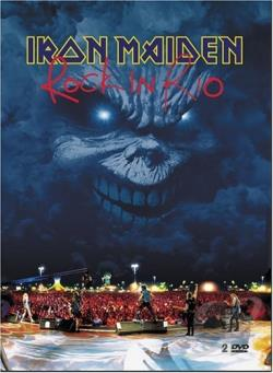 Iron Maiden - Rock in Rio DVD Cover Art