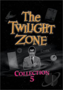 Twilight Zone - Collection 5 DVD Cover Art