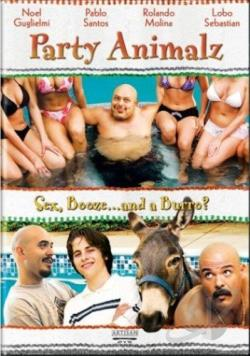 Party Animalz DVD Cover Art