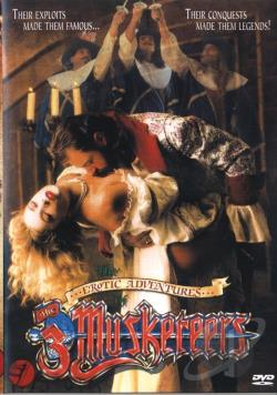 Erotic Adventures Of The Three Musketeers DVD Cover Art