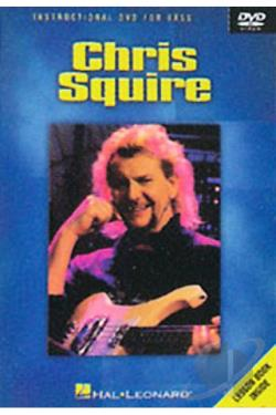 Chris Squire - Instructional DVD for Bass DVD Cover Art