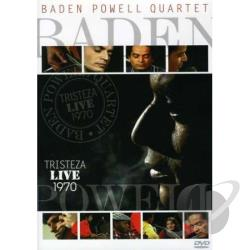 Baden Powell Quartet: Tristeza Live 1970 DVD Cover Art