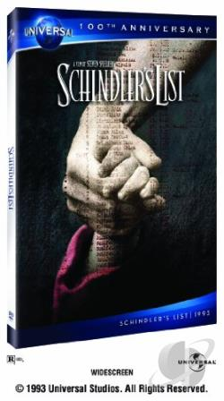 Schindler's List DVD Cover Art