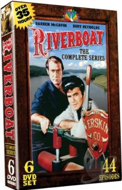 Riverboat - The Complete Series DVD Cover Art