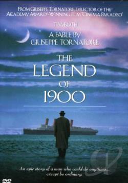 Legend Of 1900 DVD Cover Art