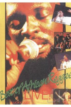 Best of African Reggae: Live! DVD Cover Art