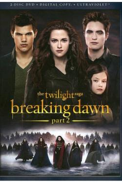 Twilight Saga: Breaking Dawn - Part 2 DVD Cover Art