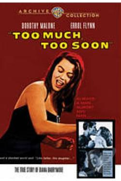 Too Much, Too Soon DVD Cover Art
