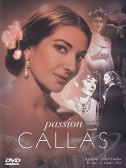 Passion Callas DVD Cover Art