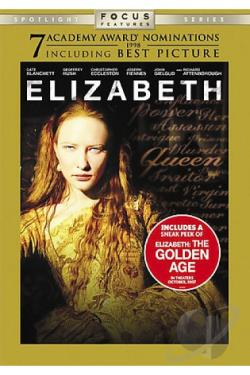 Elizabeth DVD Cover Art