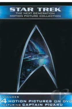 Star Trek: The Next Generation Motion Picture Collection - Star Trek VII: Generations / Star Trek V DVD Cover Art