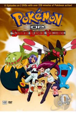 Pokemon DP Sinnoh League Victors: Set 1 DVD Cover Art