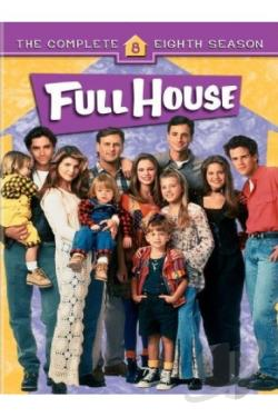 Full House - The Complete Eighth Season DVD Cover Art