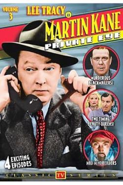 Martin Kane Private Eye - Vol. 3 DVD Cover Art