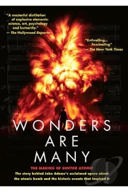 Wonders Are Many: The Making of Doctor Atomic DVD Cover Art
