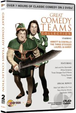 Great Comedy Teams DVD Cover Art
