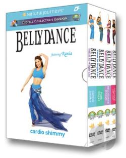 Bellydance Fitness for Weight Loss - Boxed Set DVD Cover Art