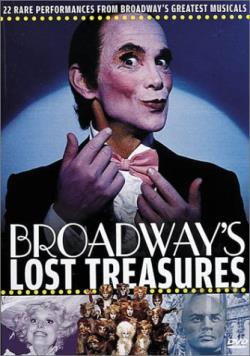Broadway's Lost Treasures DVD Cover Art