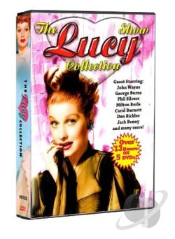 Lucy Show Collection DVD Cover Art