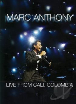 Marc Anthony - Live From Cali Colombia DVD Cover Art