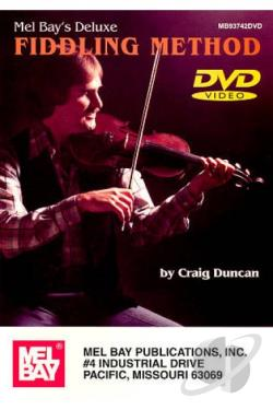 Craig Duncan: Deluxe Fiddling Method DVD Cover Art