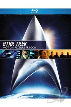 Star Trek: Motion Picture Trilogy BRAY Cover Art