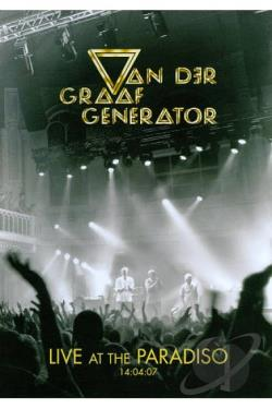 Van Der Graaf Generator: Live at the Paradiso DVD Cover Art